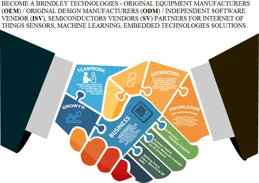 OEM, ODM, ISV, SV Alliances - Brindley Technologies